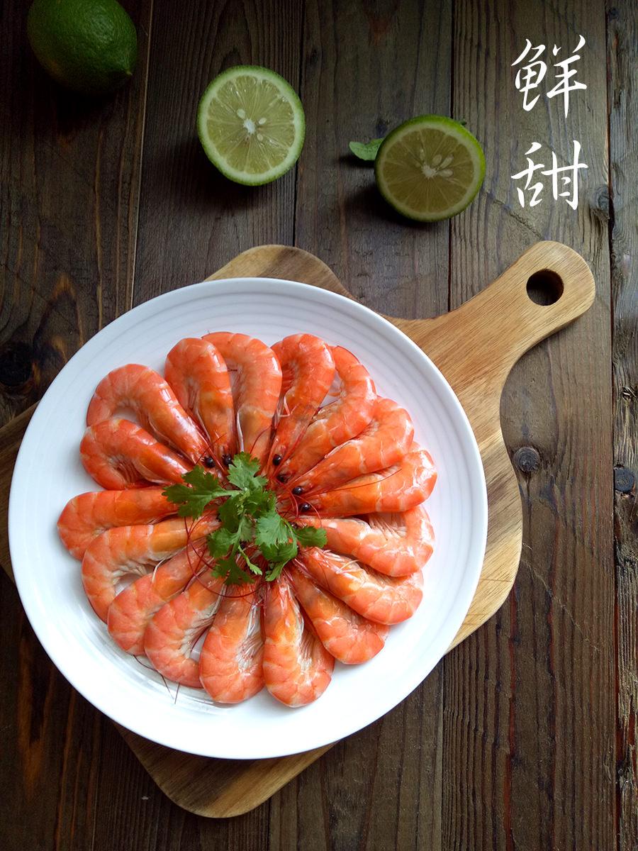 鮮甜熟白蝦